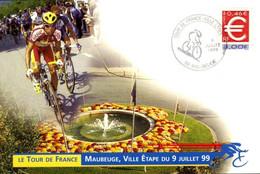 France > [59] Nord > Maubeuge > Ville étape Tour De France Du 9 Juillet 1999 / 114 - Maubeuge