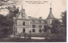 CHARENTE-MARITIME - OZILLAC - Château De La Barrière, Côté Ouest - Châteaux