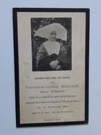 Faire-part De Décès D'une Soeur De Saint-Vincent-de-Paul Endormie à L'Hospice D'Autun ... Lot430 . - Obituary Notices