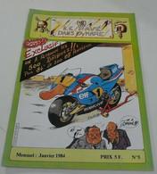 Le Pavé Dans La Mare(Moto) Janvier 1984 N°=5 - 1950 - Heute