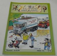 Le Pavé Dans La Mare(Moto) Avril 1984 N°=8 - 1950 - Heute