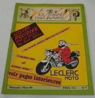 Le Pavé Dans La Mare(Moto) Mars 1984 N°=7 - 1950 - Heute