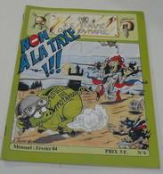 Le Pavé Dans La Mare(Moto) Février 1984 N°=6 - 1950 - Heute