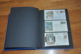 2 Albums Enveloppes Premiers Jours ,305 Enveloppes De 1956 à 1979. - Zonder Classificatie