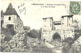 Vaucouleurs Monumennt De Jeanne D'Arc Et Porte De France - Sonstige Gemeinden