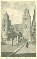 Cartolina - Cefalu' (Palermo) Cattedrale - Palermo