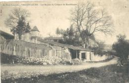 Vaucouleurs  Les Ruines  Du Chateau De Baudricourt - Altri Comuni