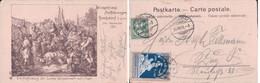 Hochdorf LU, Die Auffindung Der Leiche Winkelried's Nach L. Vogel, Vignette Winkelried Aufführungen Hochdorf (1901) - LU Lucerne