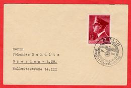 Brief Deutsches Reich Mit Michelnummer 813 Sonderstempel Berlin - Sin Clasificación
