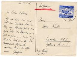 Werbung Postkarte Deutsches Reich Luftfeldpost - Sin Clasificación