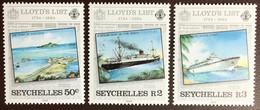 Seychelles 1984 Lloyd's List 3 Values MNH - Seychelles (1976-...)