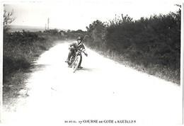 ANCIENNE  PHOTO  MOTO   - 10 Juillet 1927 COURSE DE COTE A EGUILLES  - Photo LLORCA  Marseille - Automobili