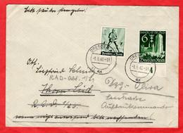 Brief Deutsches Reich Mit Sondermarke - Sin Clasificación