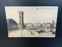 Oostende - Ostend - Station - La Gare- Stationsplein - Tram - Oostende