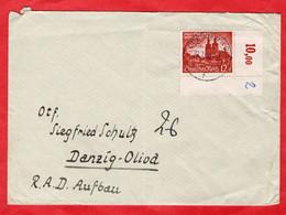 Brief Deutsches Reich Mit Sondermarke Eckrand - Sin Clasificación