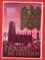 Propaganda Karte Deutsches Reich Danzig - Zonder Classificatie