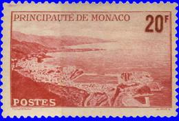 Monaco 1947. ~ YT 312** - 20 F. Rade - Unused Stamps