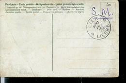 Carte Fantaisie En Franchise S.M. Obl. LIER - D D - LIERRE 24/09/1914 - Poste Militaire