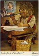 MECKI KARTE - Briefe Schreiben - Der Anfang Ist So Schwer (Igel, Hedgehog, Hèrisson) - Mecki