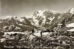 Cartolina - Macugnaga - Passo E Rifugio M. Moro E Monte Rosa - 1953 - Verbania
