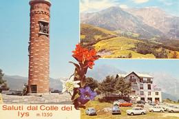 Cartolina - Saluti Dal Colle Del Lys - Vedute Diverse - 1973 - Sin Clasificación