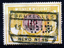 "TR 39 -  ""BRUXELLES-NORD Nr 15"" - PERFIN - (34.626) - 1895-1913"