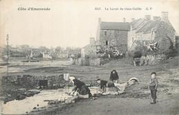 CPA 29 FINISTERE Le Lavoir Du Vieux Guildo - Lavandières Côte D'Emeraude - Saint-Cast-le-Guildo