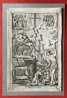 Image Pieuse - 17ième - GRAVURE -  T' ANTWERPEN HET DUYFKEN IN DE STEENROTS - 14.5 Cm X 9.5 Cm - Devotion Images