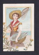 Vente Immediate Carte Illustree Fleur De Plage Jeune Fille Pecheuse Peche Filet  Panier Poissons  47713) - 1900-1949