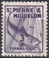 France S. P. M.  Taxe De1938 YT 41 Neuf - Portomarken