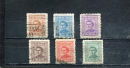 Uruguay 1939-44 Yt 521-526 - Uruguay
