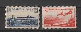 Algérie 1949 Oeuvres Sociales De La Marine 273-274 , 2 Val ** MNH - Unused Stamps