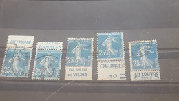 LOT551788 TIMBRE DE FRANCE OBLITERE BORD BANDE PUB - Verzamelingen