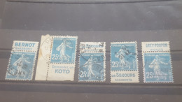 LOT551789 TIMBRE DE FRANCE OBLITERE BORD BANDE PUB - Verzamelingen