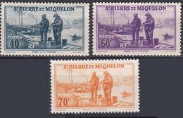 France S. P. M. TUC De 1939-40 YT 196-198-199 Neufs - Ungebraucht