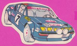 264987 / ETIKET ETIQUETTE LABEL - Car Racing - Renault Alpine A310 - Bulgaria Bulgarie Bulgarien Bulgarije - Car Racing - F1