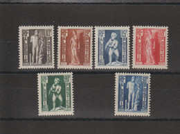 Algérie 1952 Statues 288-293 , 6 Val ** MNH - Neufs