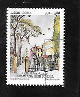 TIMBRE OBLITERE DU LIBAN DE 2021 - Libano