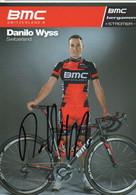 CYCLISME   TOUR DE FRANCE    AUTOGRAPHE DANILO WYSS - Cycling