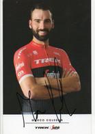 CYCLISME   TOUR DE FRANCE    AUTOGRAPHE  MARCO COLEDAN - Cycling