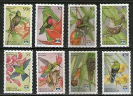 Grenada Grenadines 1992 Hummingbirds Birds Wildlife Fauna Sc 1423-30 MNH # 895 - Hummingbirds