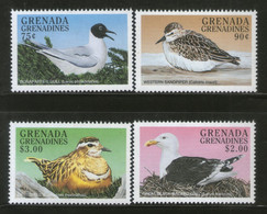 Grenada Grenadines 1998 Sea Birds Wildlife Fauna Sc 2032-35 MNH # 264 - Seagulls