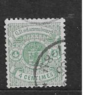 1875 USED Luxemburg Mi 30 - 1859-1880 Coat Of Arms