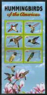 Grenada 2011 Hummingbirds Birds Wildlife Fauna Sc 3840 Sheetlet MNH # 6341 - Hummingbirds