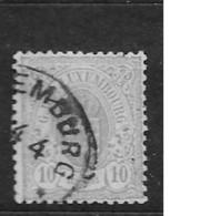 1875 USED Luxemburg Mi 31 - 1859-1880 Coat Of Arms