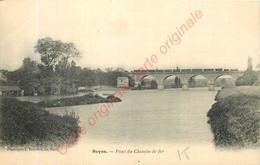 72.  NOYEN .  Pont Du Chemin De Fer . - Other Municipalities