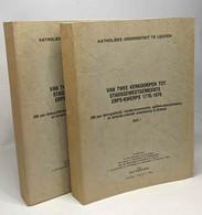 Van Twee Kerkdorpen Tot Stadsgewestgemeente: Erps-kwerps 1776-1976 - Deel I + Deel II --- Katholieke Universiteit Te Leu - Historia