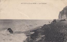 SOTTEVILLE-sur-MER (Seine-Maritime): Les Falaises - Altri Comuni