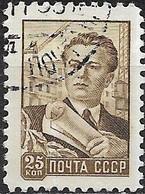 RUSSIA 1929 Architect - 25k - Brown FU - Gebruikt