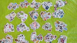 Lots TH 624 FRANCE Moderne  Un Vrac De + De 1000 Timbres Obliteres - Colecciones (en álbumes)